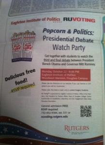 Free popcorn!