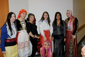 The Girls at Mr. and Ms. Mediterranean Cultural Event